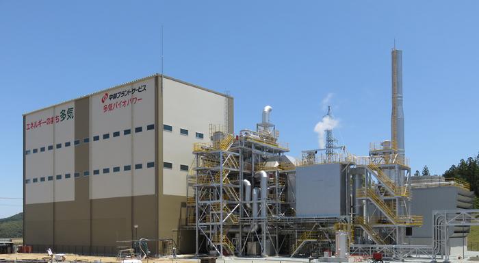 再生可能エネルギー木質バイオマス発電所 「多気バイオパワー」