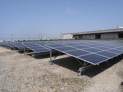 明野太陽光発電設備