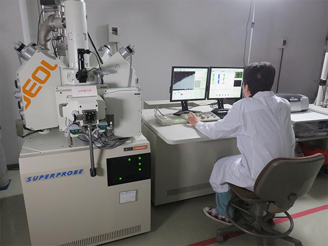 電子顕微鏡によるミクロ組織観察